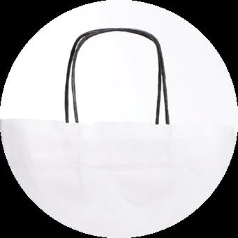 Uchwyt skręcany torby reklamowe